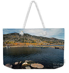 Fish Lake Ut Weekender Tote Bag by Cindy Murphy - NightVisions
