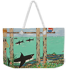 Fish Not Biting Today Weekender Tote Bag