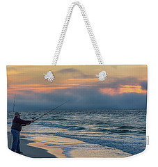 Weekender Tote Bag featuring the photograph Fish On In Alabama  by John McGraw