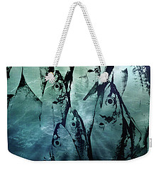 Fish Pattern Weekender Tote Bag by Tom Gowanlock
