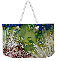Fish Pond Weekender Tote Bag