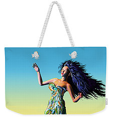 Fish Queen Weekender Tote Bag
