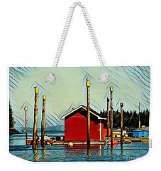 Fish Shack, Campobello Weekender Tote Bag