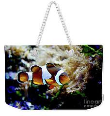 Fish Stripes Clownfish Weekender Tote Bag