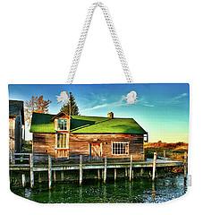 Fish Town Shanty  Weekender Tote Bag