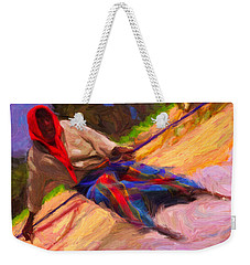 Fisherman Weekender Tote Bag