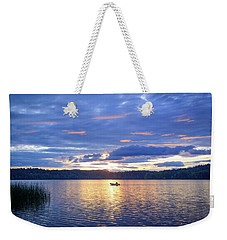 Fisherman Heading Home Weekender Tote Bag