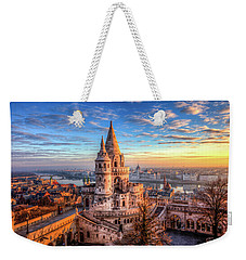 Fisherman's Bastion In Budapest Weekender Tote Bag by Shawn Everhart