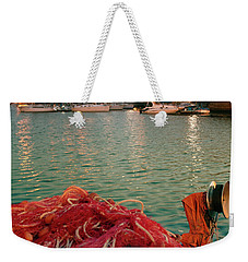 Fisherman's Net Weekender Tote Bag
