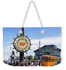 Fishermans Wharf - San Francisco Weekender Tote Bag