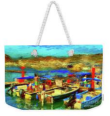 Fishermen Return Weekender Tote Bag