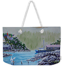 Fisher's Cove Weekender Tote Bag