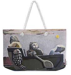 Fishers Weekender Tote Bag