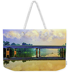 Fishin' For Angels Weekender Tote Bag