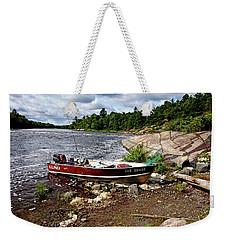 Fishing And Exploring Weekender Tote Bag