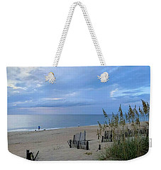 Weekender Tote Bag featuring the photograph Fishing At Fish Heads 8/19 by Barbara Ann Bell