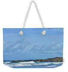 Fishing At Kare Kare Weekender Tote Bag