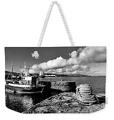 Fishing Boat Lerwick Shetland Weekender Tote Bag by Lynn Bolt