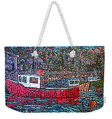 Fishing Boats - Beaver Harbour Weekender Tote Bag
