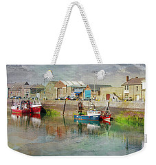 Fishing Boats In Ireland Weekender Tote Bag