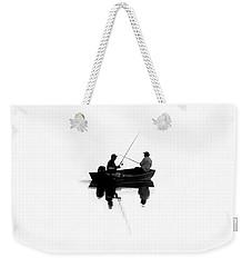 Fishing Buddies Weekender Tote Bag by David Lee Thompson