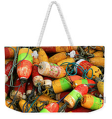 Fishing Buoys Weekender Tote Bag