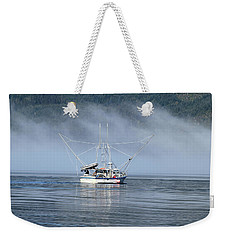 Fishing In Alaska Weekender Tote Bag