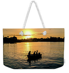 Fishing In Auckland Weekender Tote Bag