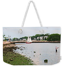 Fishing In Connecticut Weekender Tote Bag
