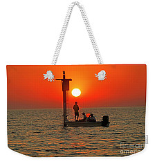 Fishing In Lacombe Louisiana Weekender Tote Bag by Luana K Perez