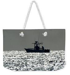 Fishing In Sanibel Weekender Tote Bag