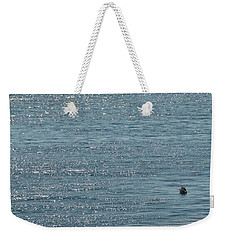 Fishing In The Ocean Off Palos Verdes Weekender Tote Bag