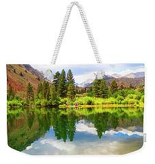 Fishing Intake 2 Weekender Tote Bag