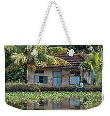 Fishing Weekender Tote Bag by Marion Galt