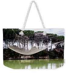 Fishing Net Weekender Tote Bag by Ana Mireles
