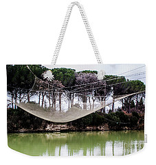 Fishing Net Weekender Tote Bag