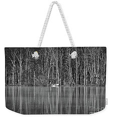 Weekender Tote Bag featuring the photograph Fishing Norris Lake by Douglas Stucky