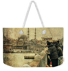 Fishing On The Bosphorus Weekender Tote Bag