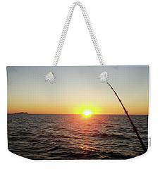 Fishing Pole Taken On 35mm Film Weekender Tote Bag
