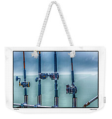 Fishing Poles Weekender Tote Bag