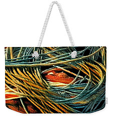 Fishing  Rope  Weekender Tote Bag by Colette V Hera Guggenheim