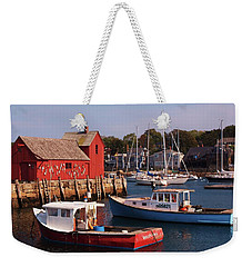 Fishing Shack Weekender Tote Bag