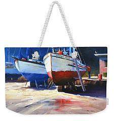 Fishing Soon Weekender Tote Bag