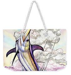 Fishing Swordfish Weekender Tote Bag