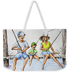 Fishing Tale Weekender Tote Bag