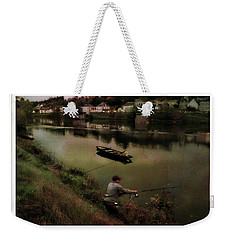 Fishing The Loire River Weekender Tote Bag by Hugh Smith