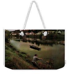 Fishing The Loire River Weekender Tote Bag