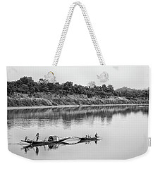 Fishing The Lower Ganges Weekender Tote Bag