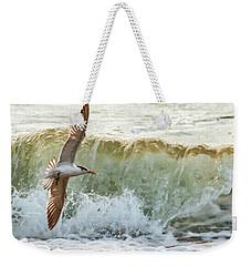 Fishing The Surf Weekender Tote Bag