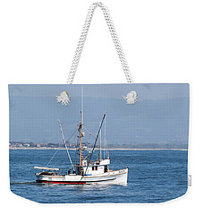 Fishing Vessel Sun Ra Weekender Tote Bag